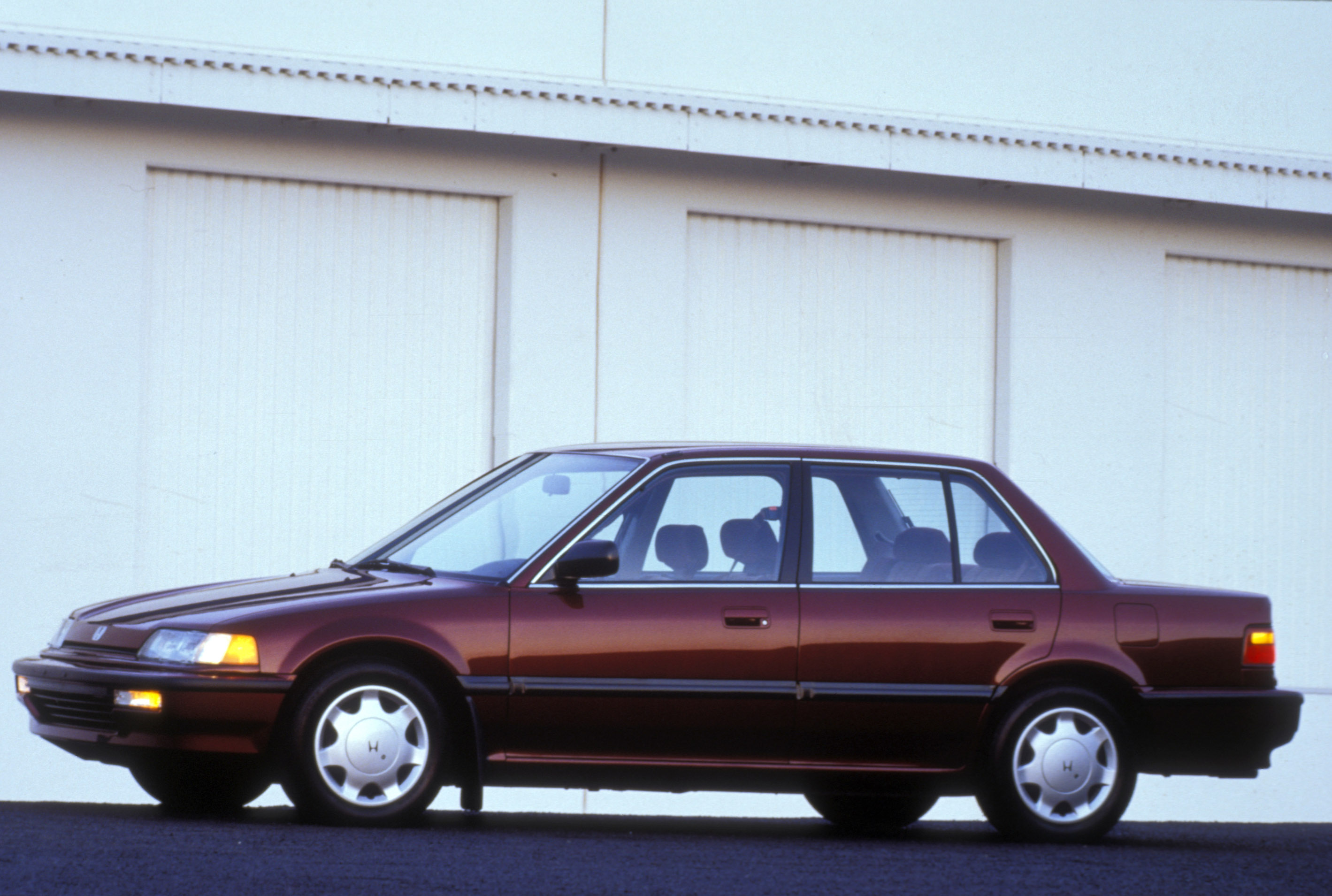 1991 Honda Civic EX sedan profile