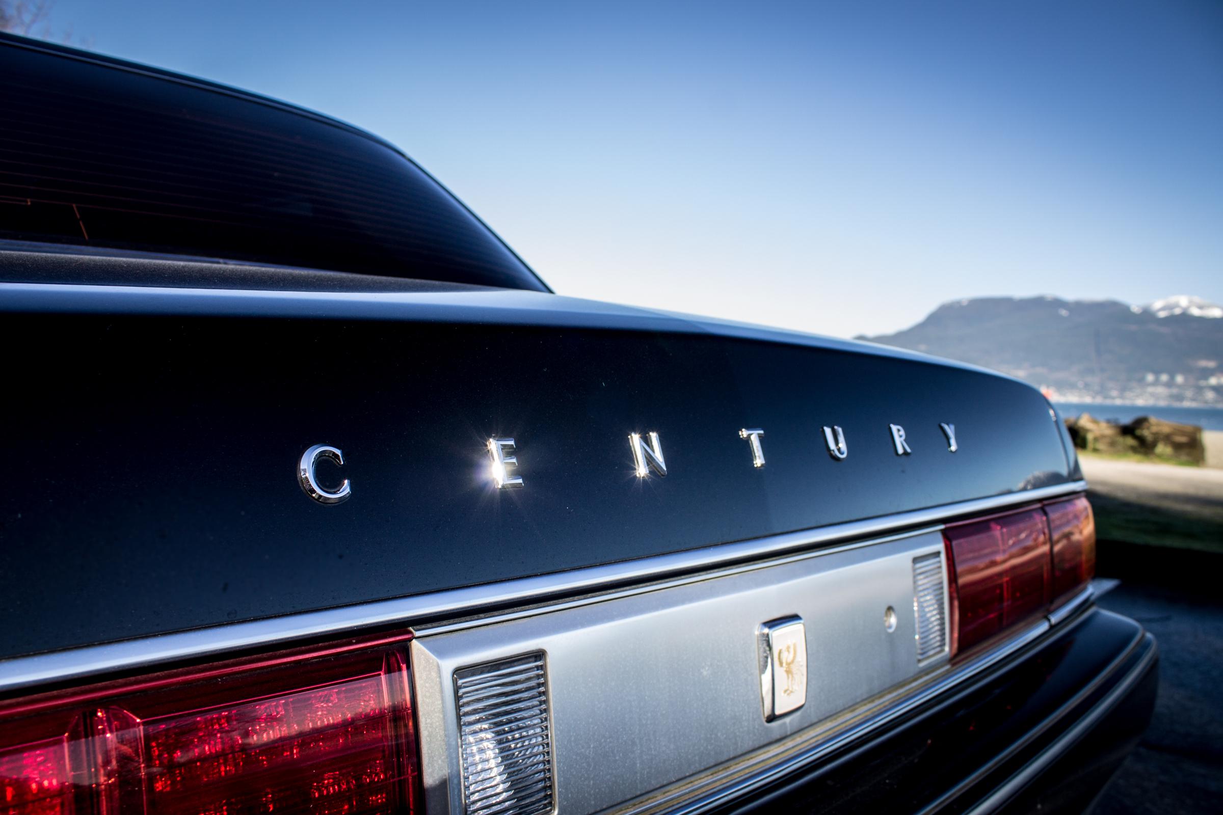 Toyota Century rear detail