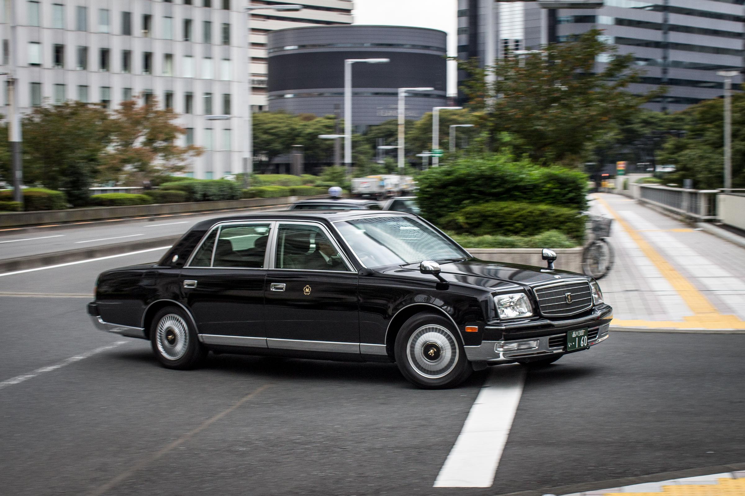 Toyota Century driving