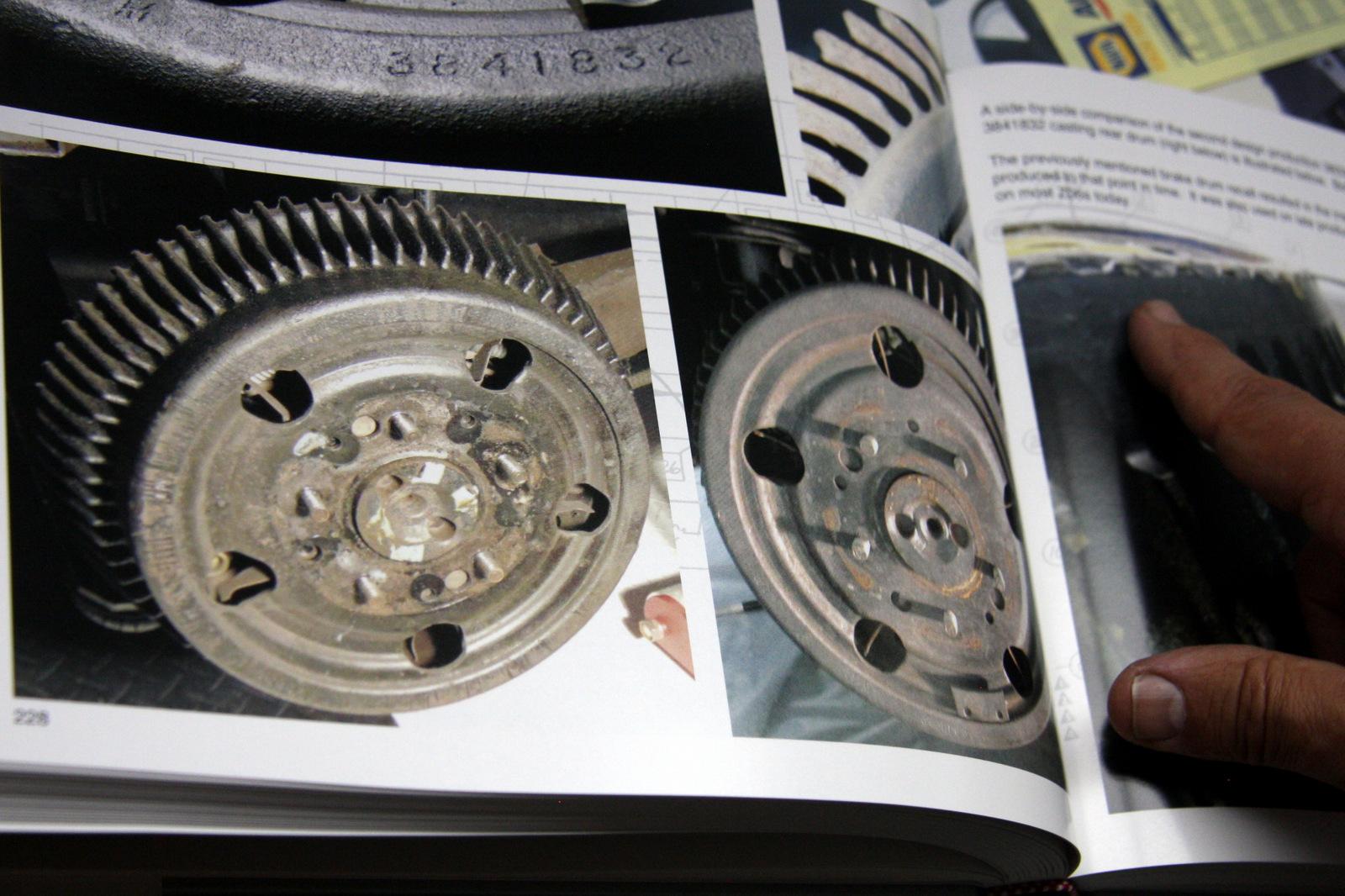 Z06 drum brakes in the book