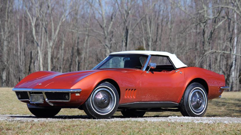 1968 Chevrolet Corvette L79 Convertible front 3/4