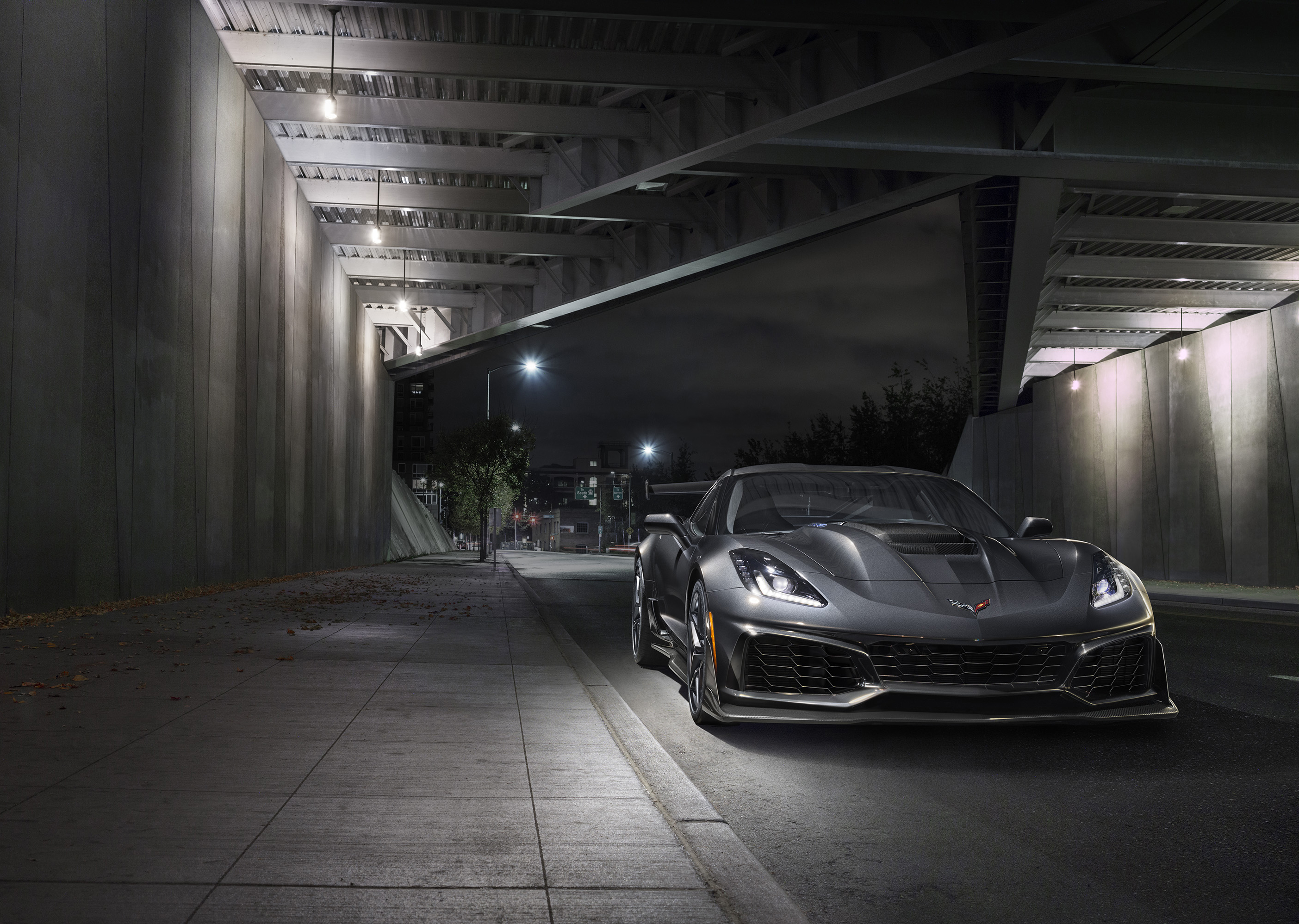 2019 Chevrolet Corvette ZR1 Front End Shot