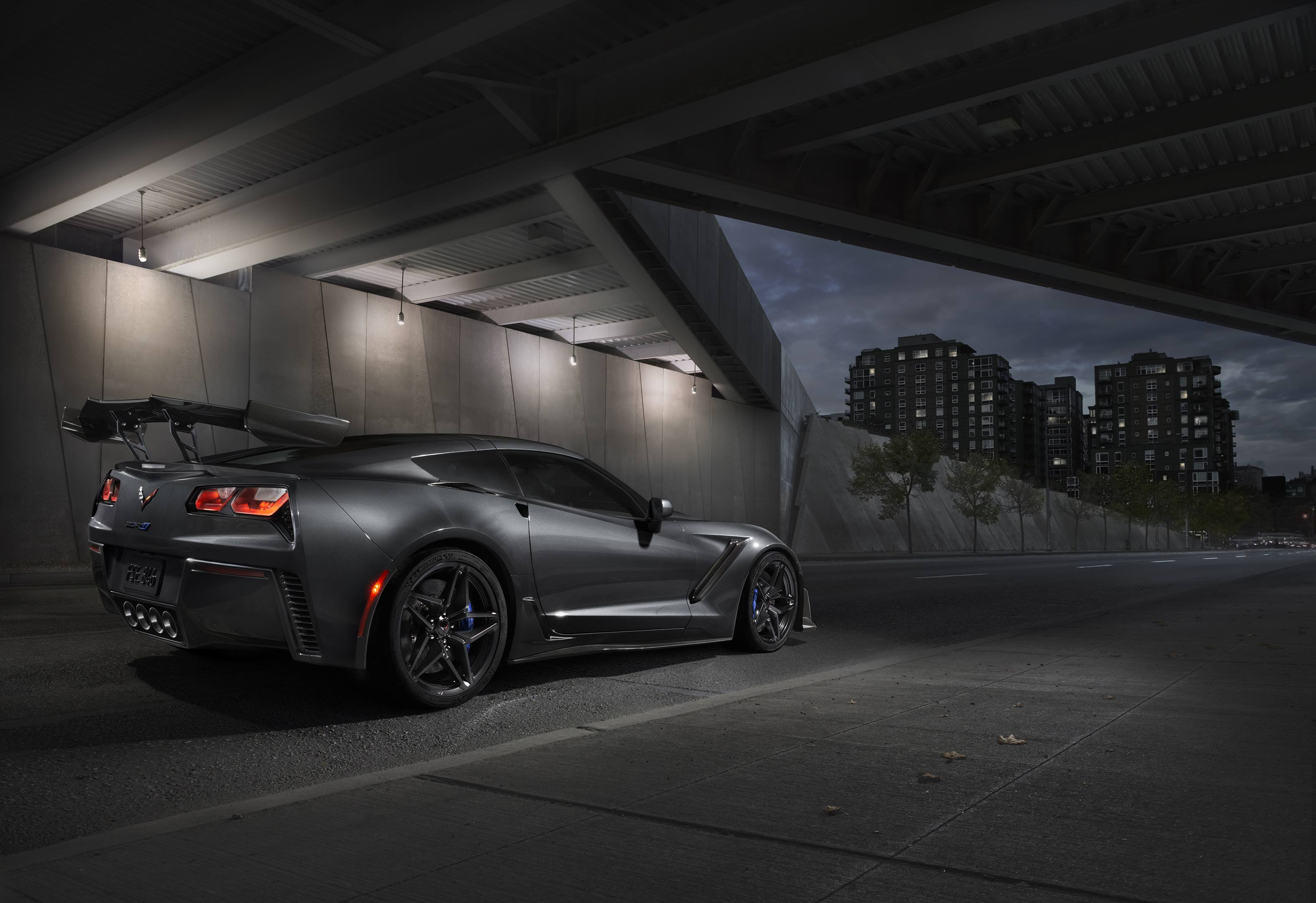 2019 Chevrolet Corvette ZR1 Rear 3/4 Shot