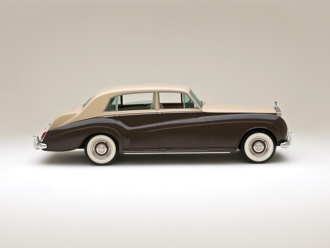 1966 Rolls-Royce Silver Cloud III Touring Limousine profile