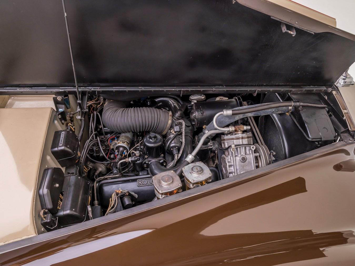 1966 Rolls-Royce Silver Cloud III Touring Limousine engine