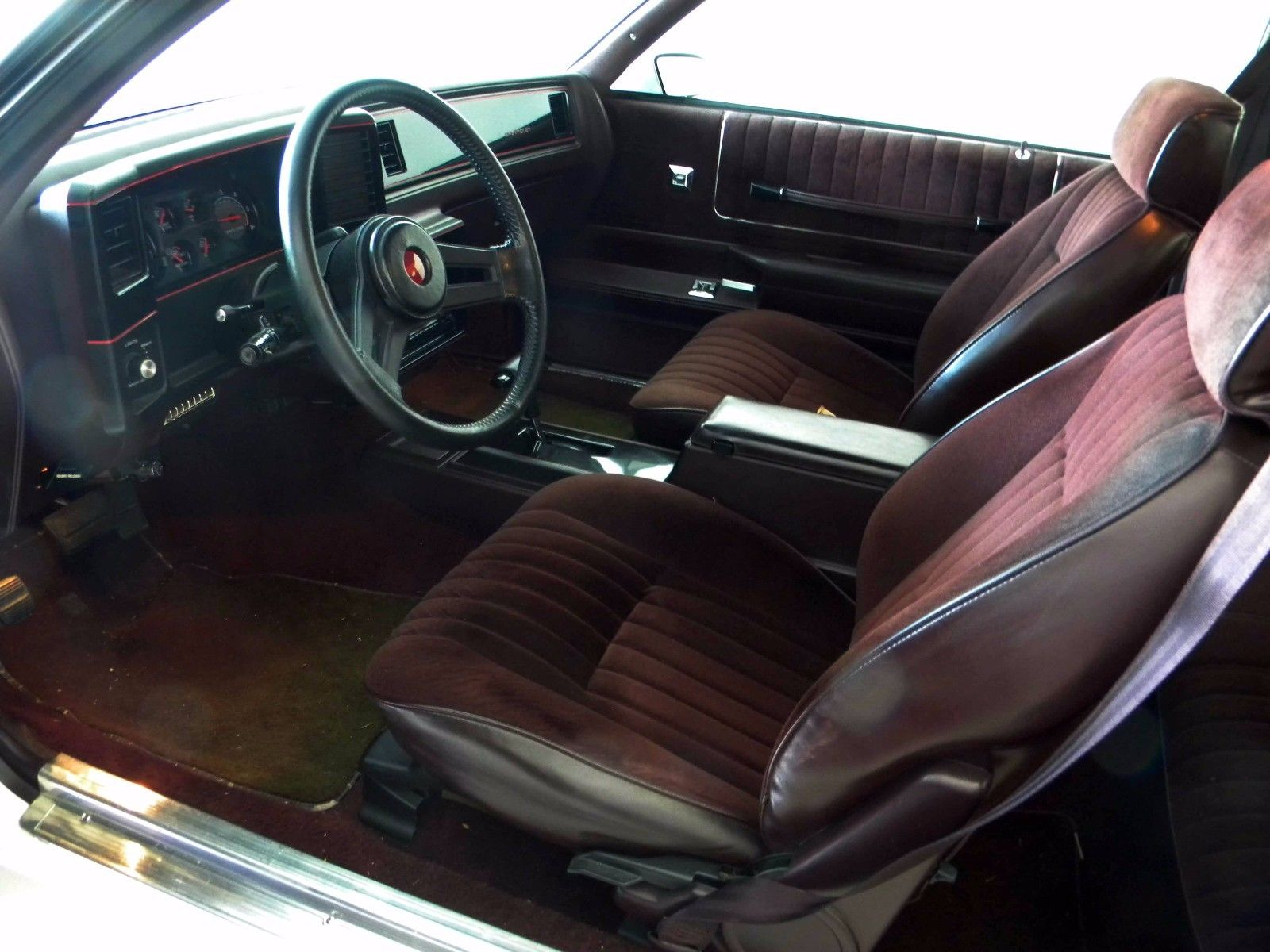 1987 Chevrolet Monte Carlo SS Interior