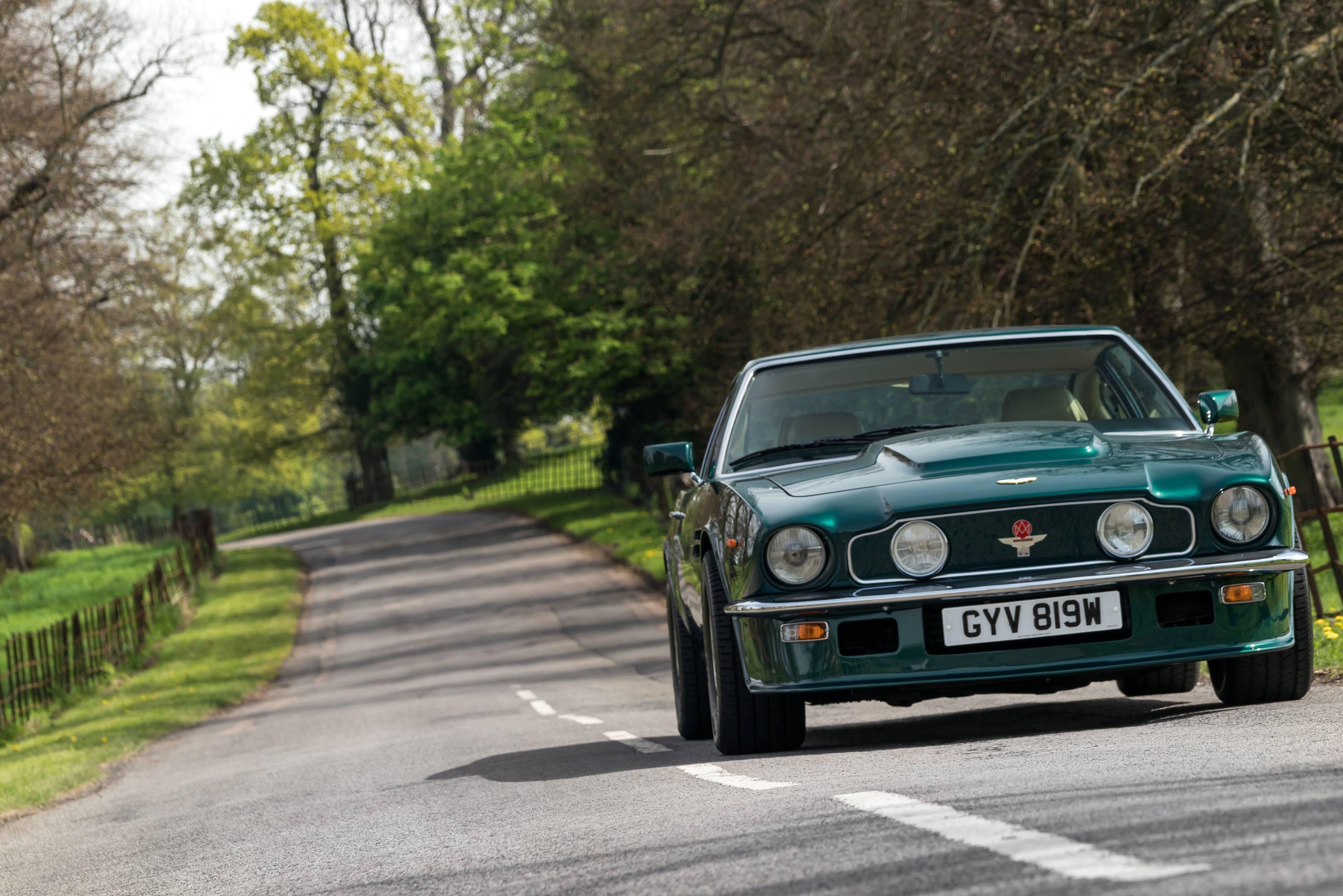 Aston martin v8 vantage andy palmer