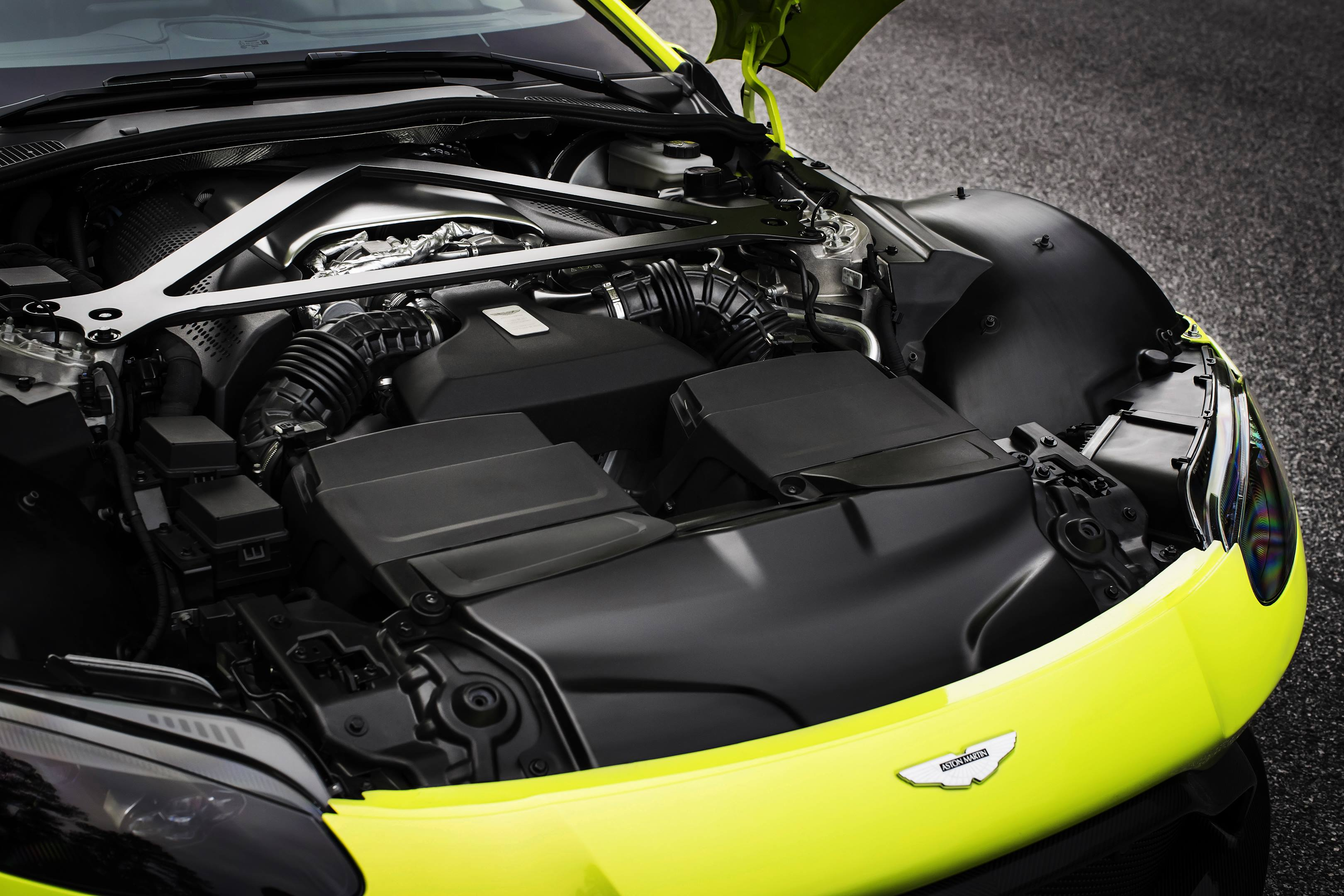 aston martin v8 vantage turbo 2017 engine