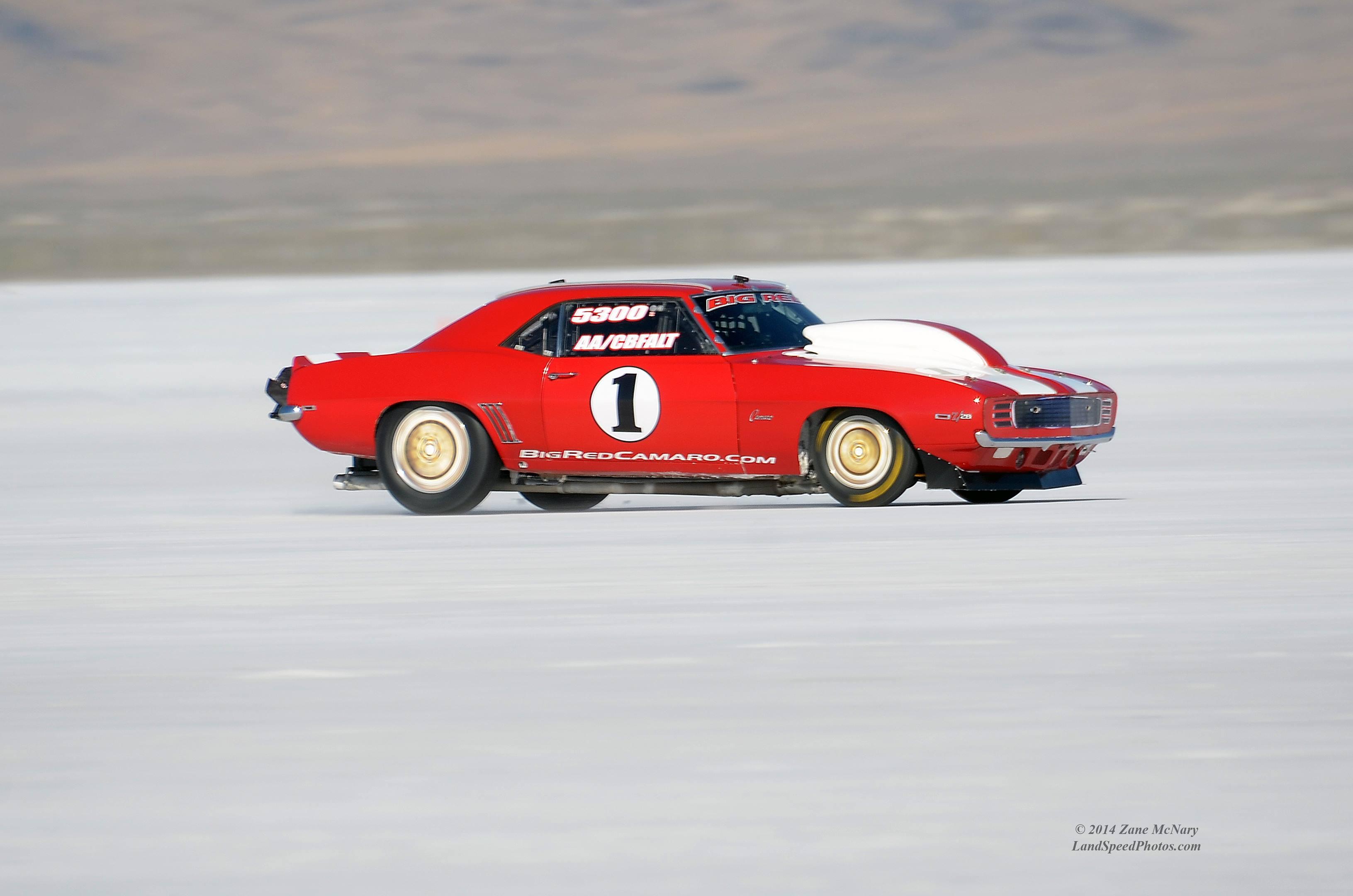 Bid Red at the Salt Flats