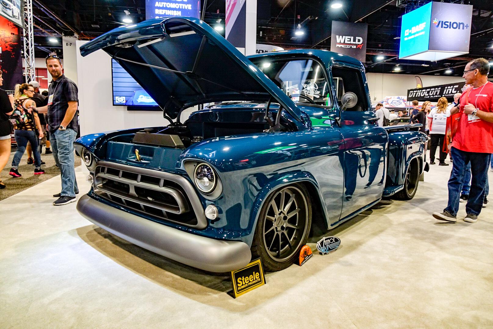 1957 Chevy pickup Bogi Garage
