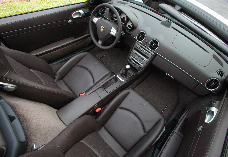 2007 Porsche Boxster S interior