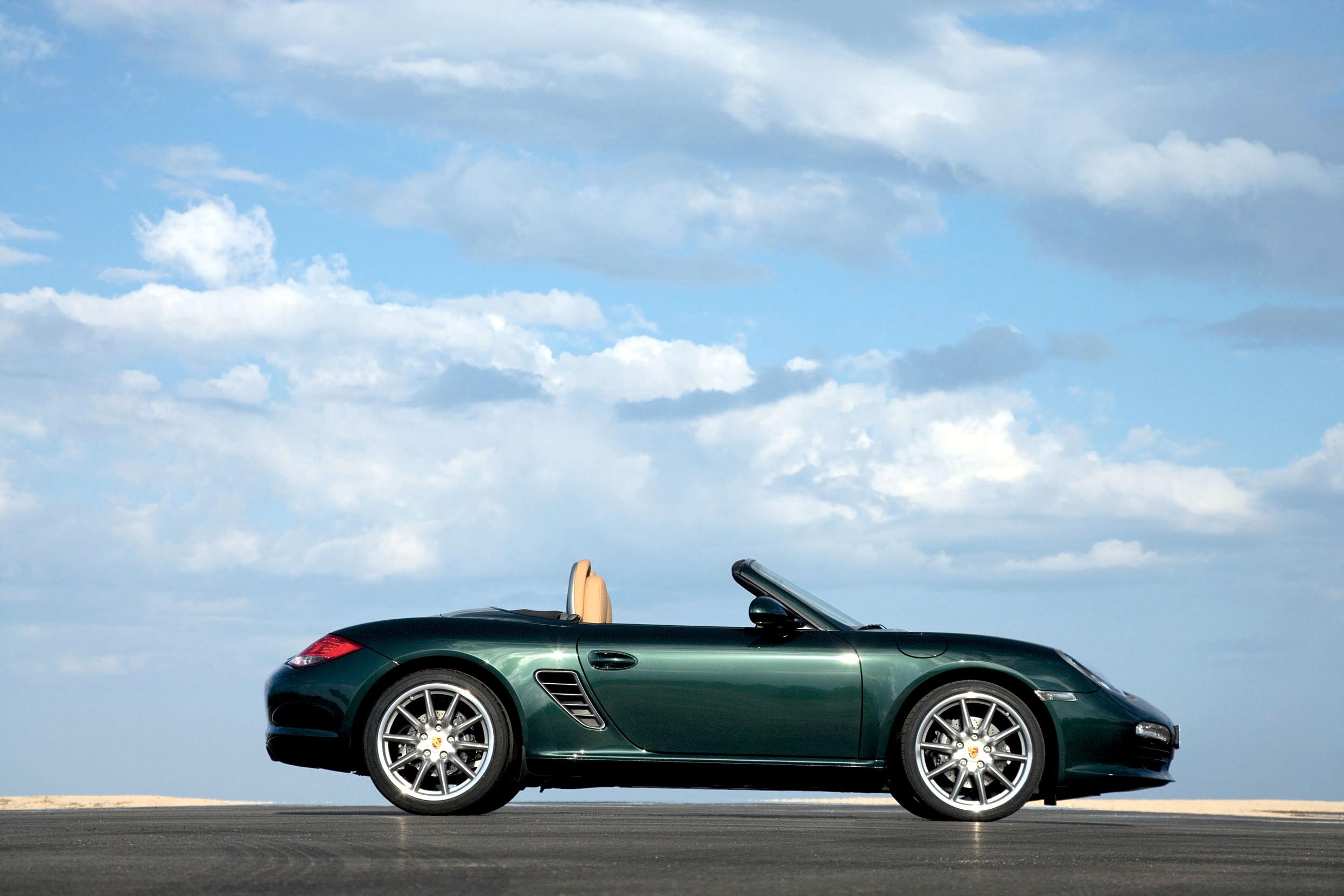 2010 Porsche Boxster profile