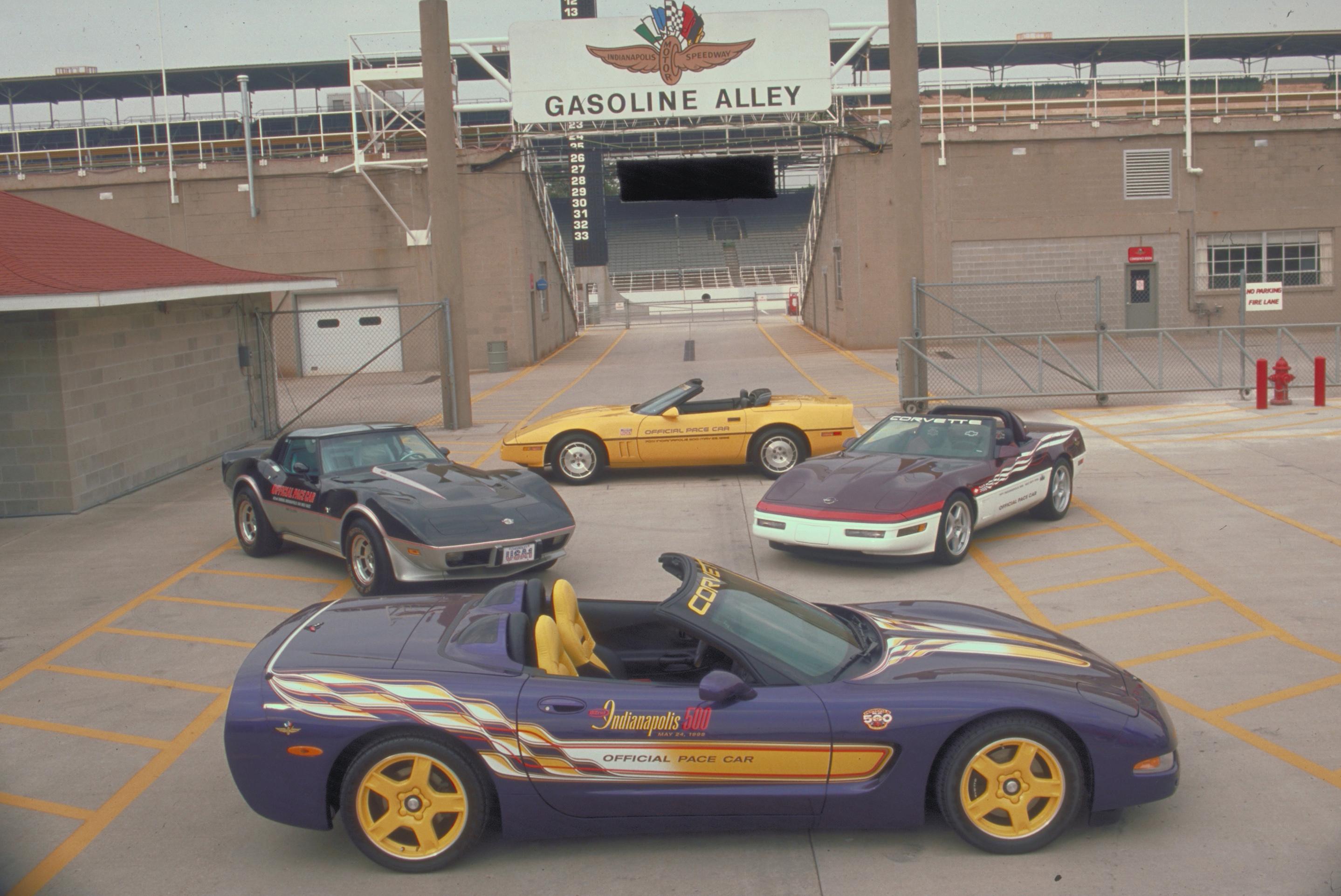 2003 Chevrolet Corvette Indy Pace Car