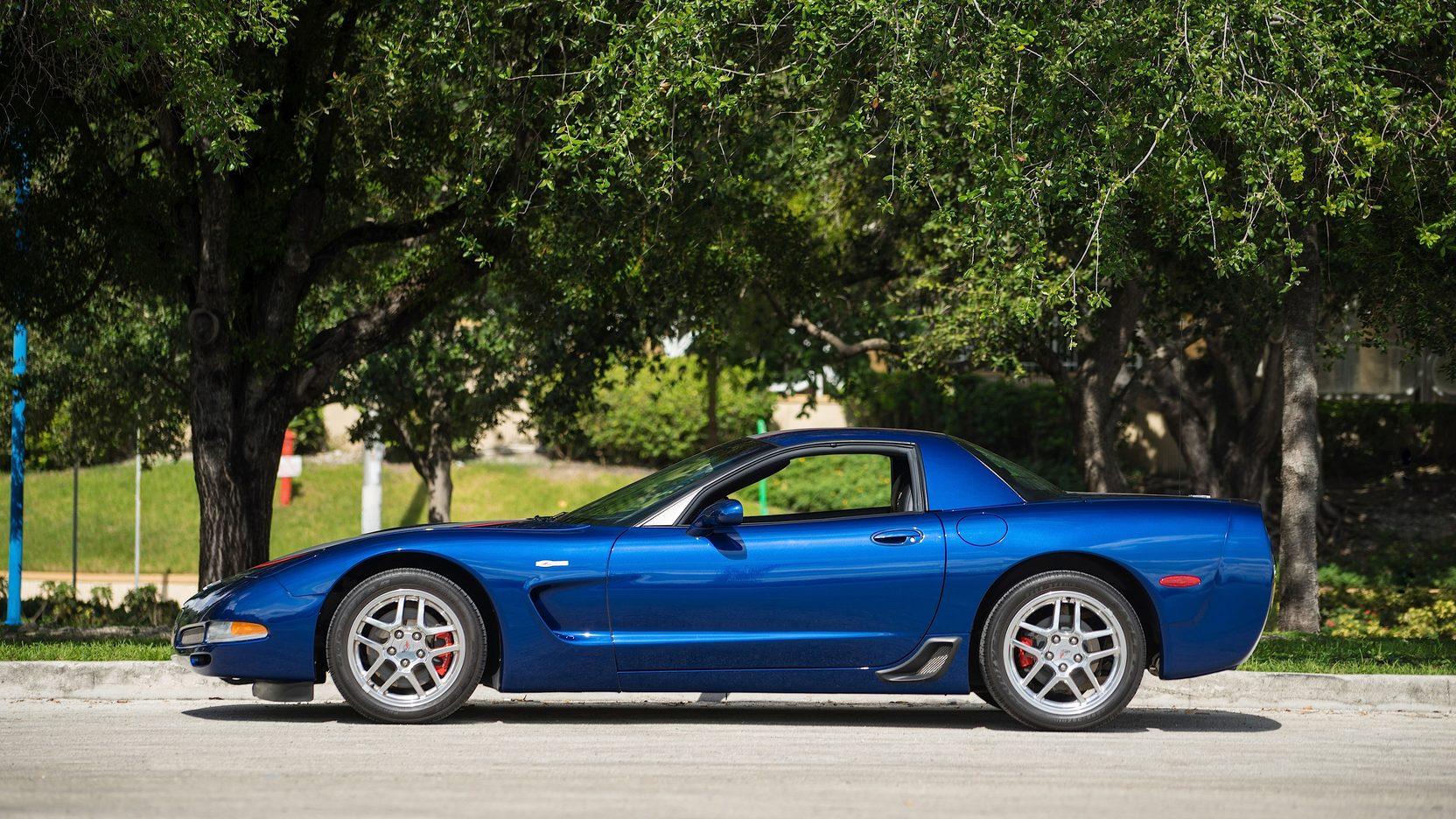 2004 Chevrolet Corvette Z06 Commemorative Edition profile
