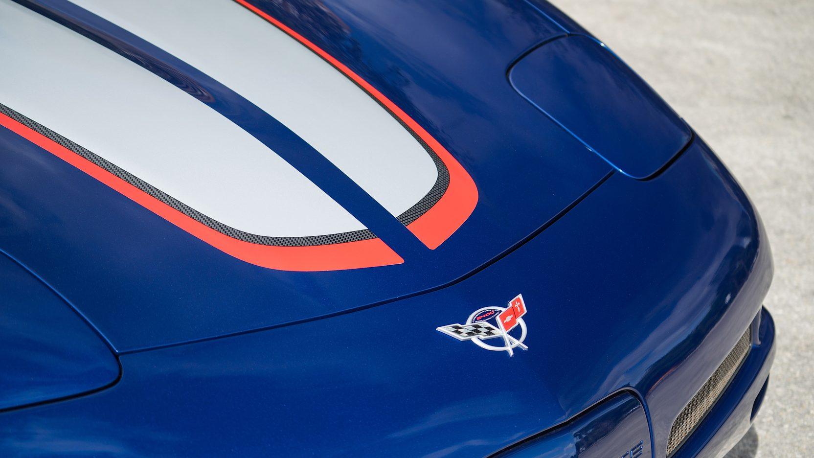 2004 Chevrolet Corvette Z06 hoof detail