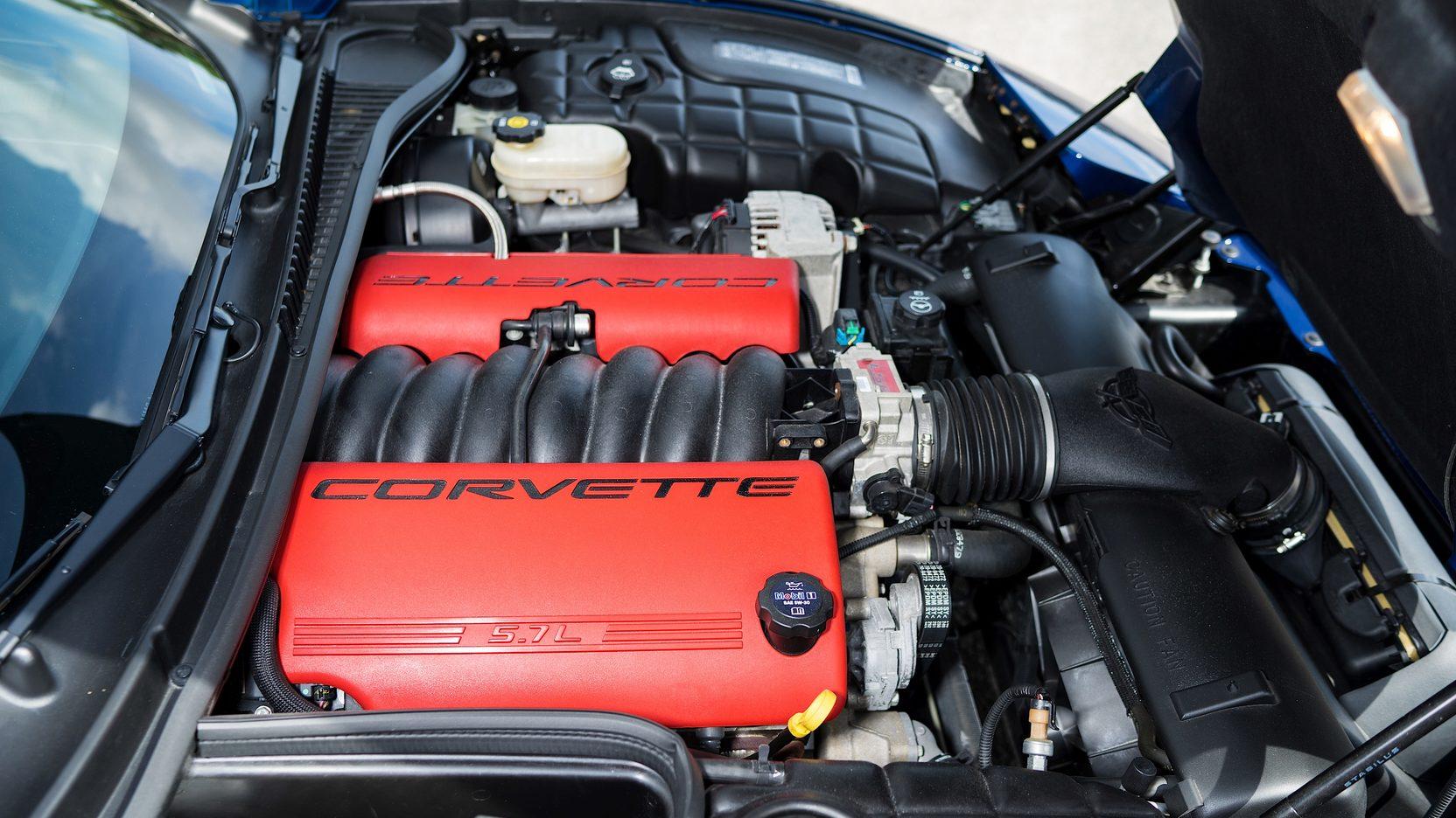 2004 Chevrolet Corvette Z06 engine