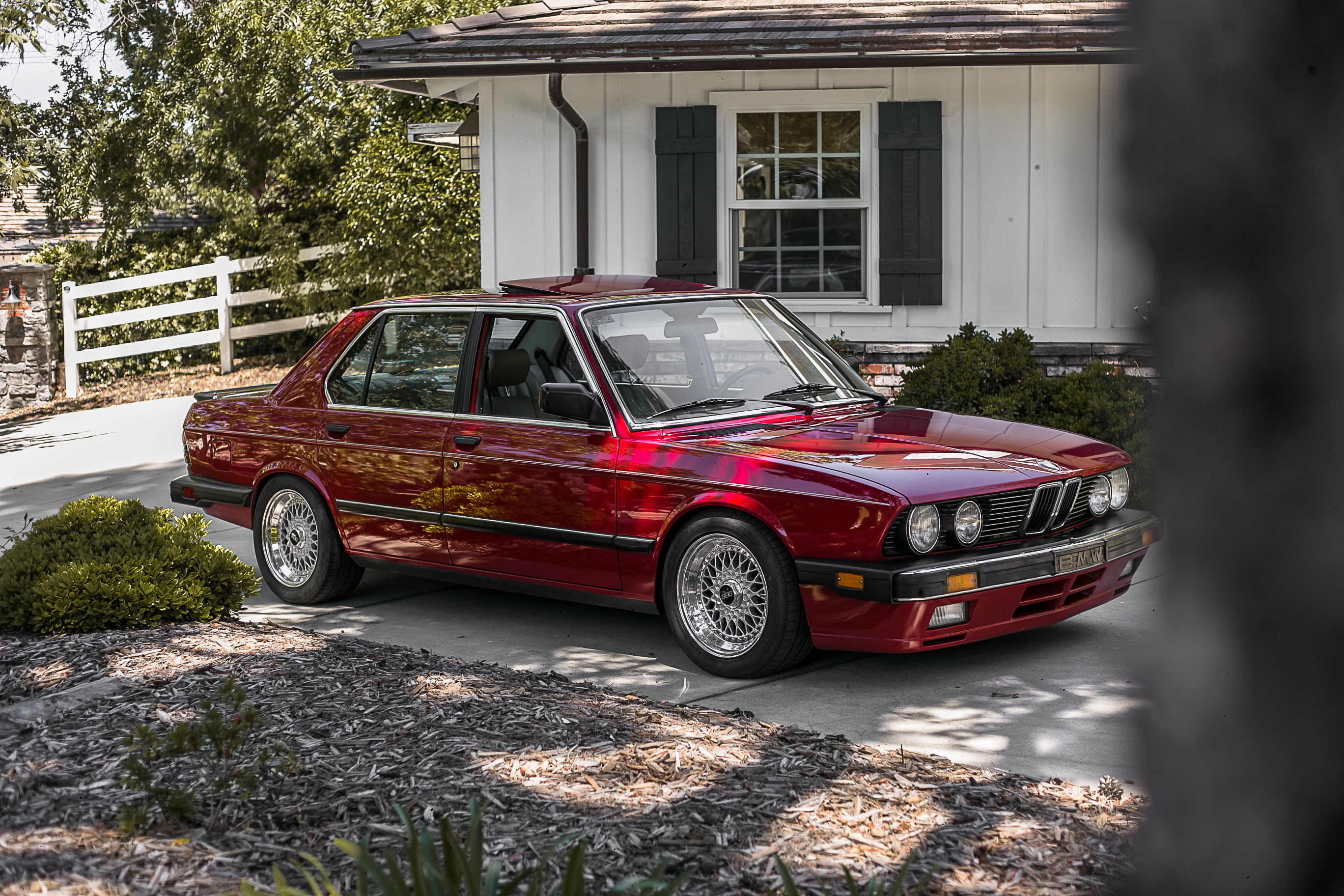 Austin Caccavo's 1987 BMW 535is.