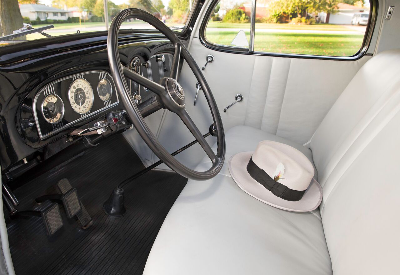 Ed Krupinski's 120 Sport Coupe was delivered without a radio or heater. The car sold for           <figure class=