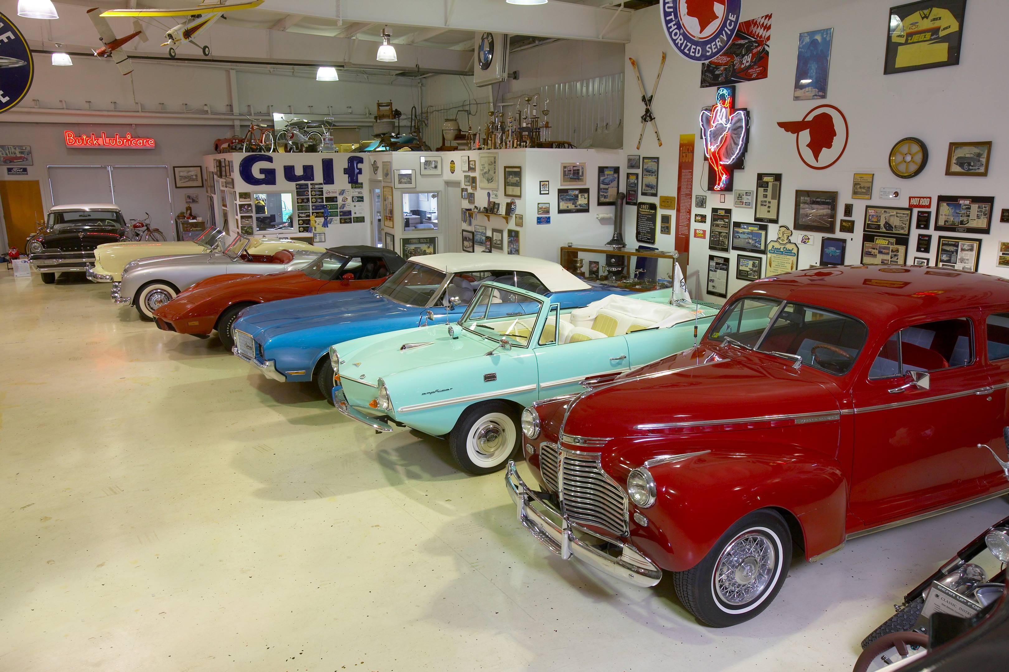 Cars in a Garage