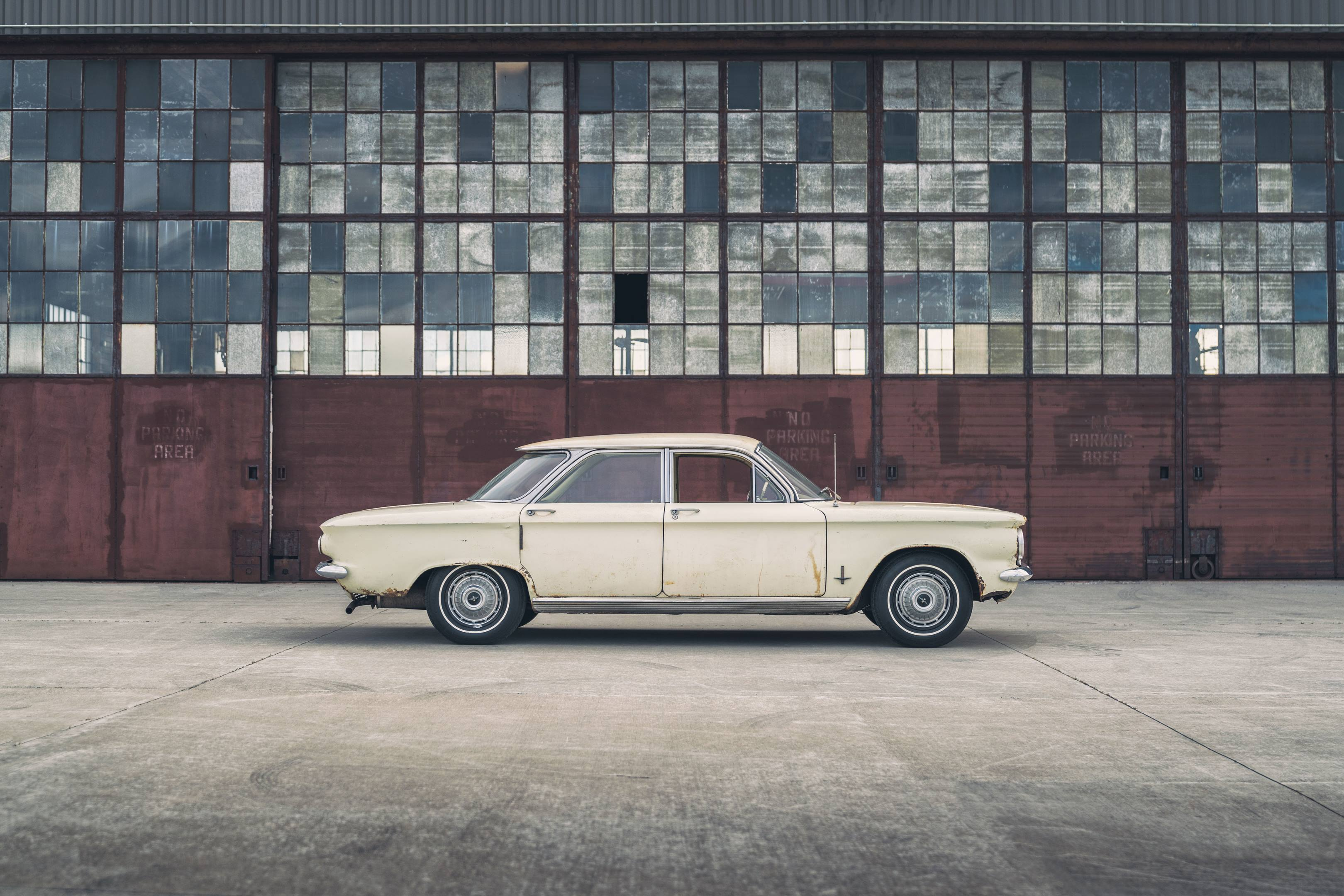 Ralph Nader's 1962 Chevy Corvair Monza