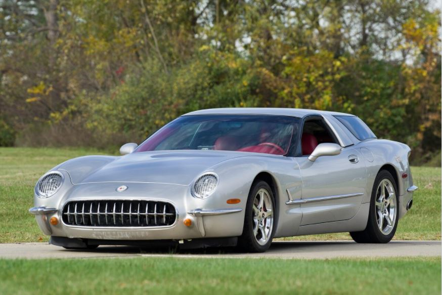 The Pasteiner Corvette Nomad isn't a replica of the 1954 Motorama Corvette Nomad, but rather an interpretation of it, based on a 2003 C5 Corvette.