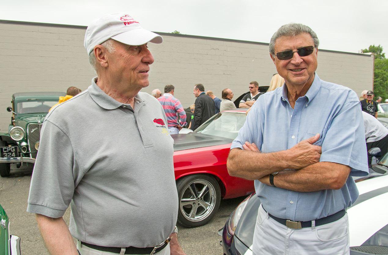 Steve Pasteiner and retired GM Chief Designer Wayne Kady talk cars