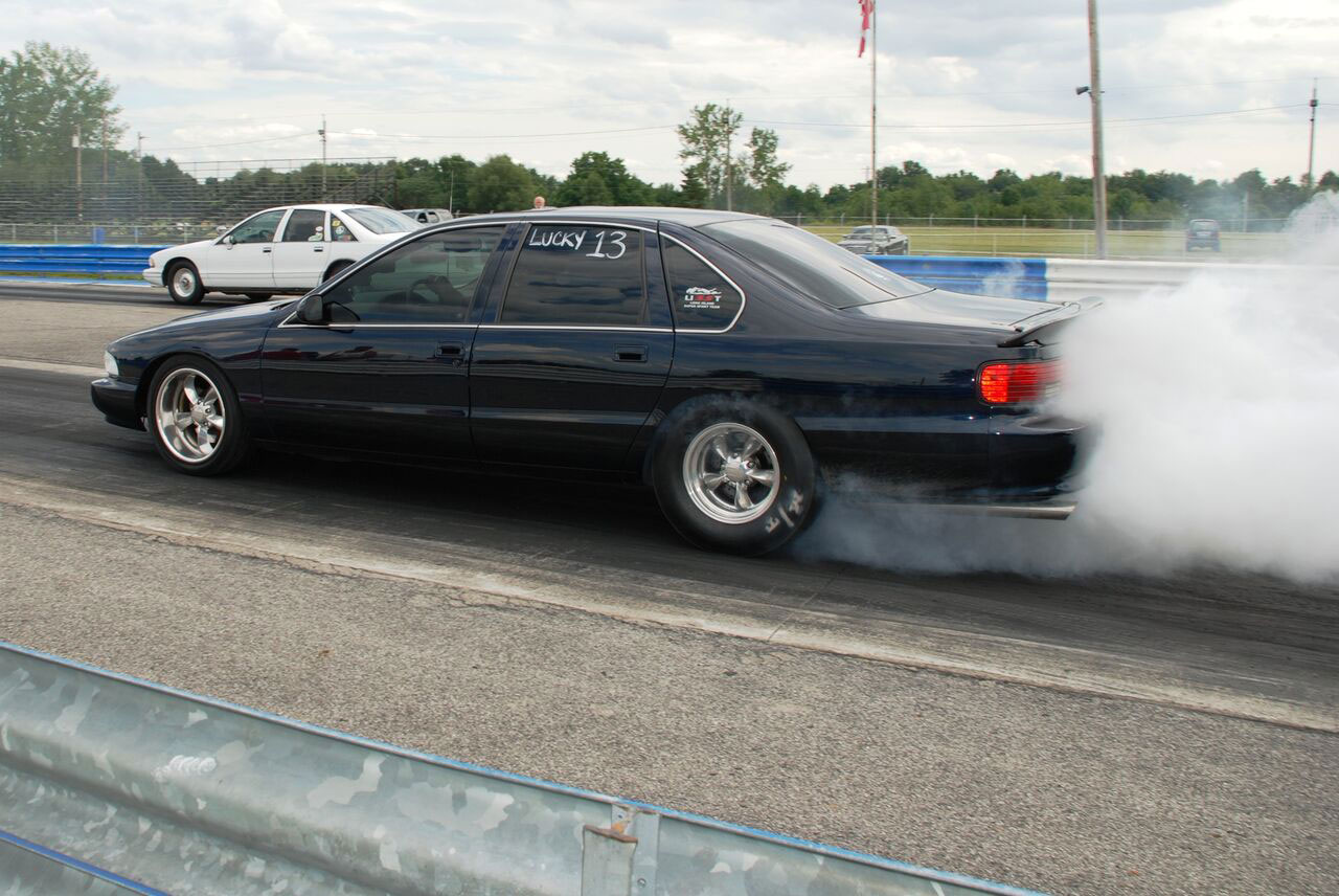 Bill DiBlasio Impala SS burn out