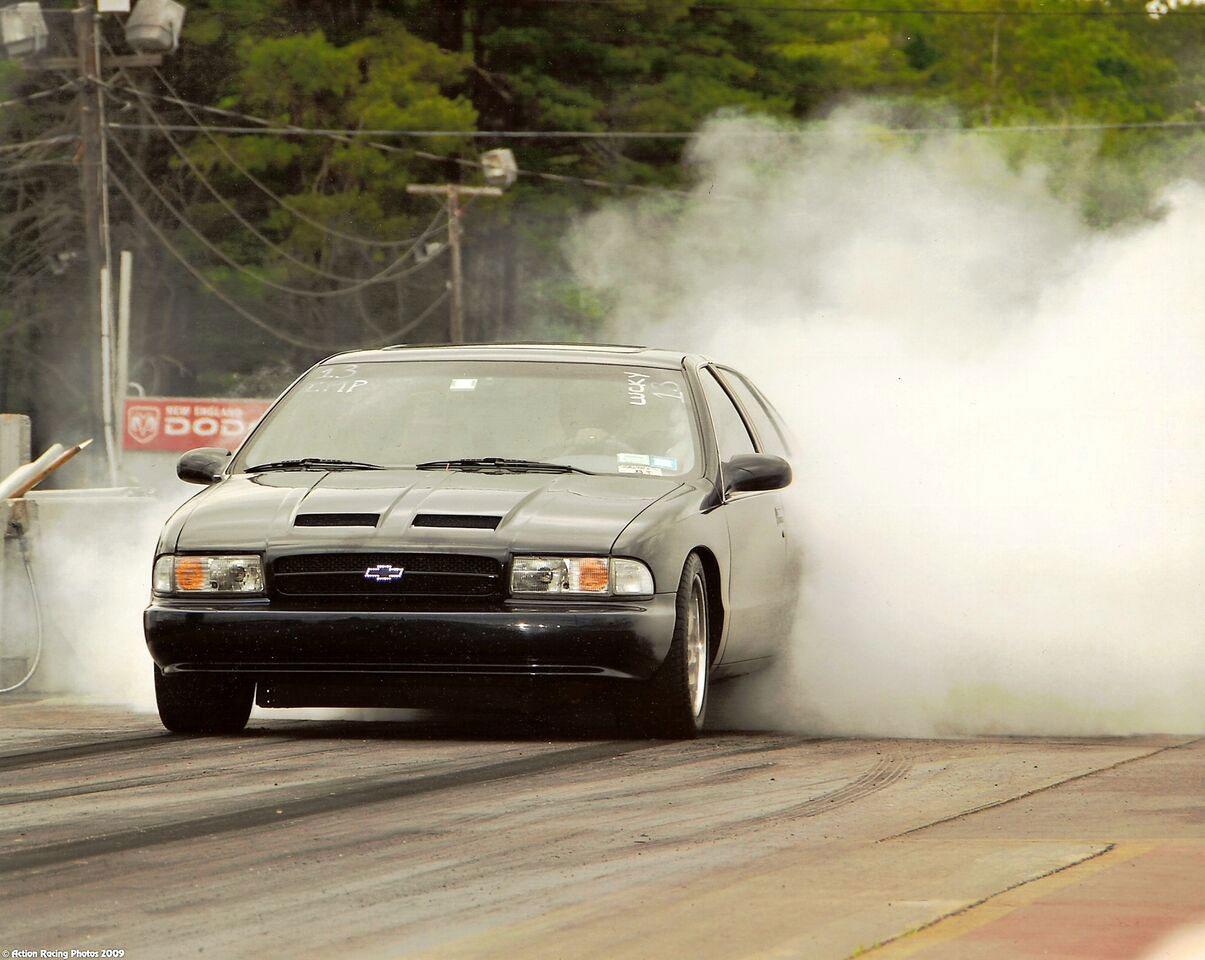 Bill DiBlasio Impala SS drag racing