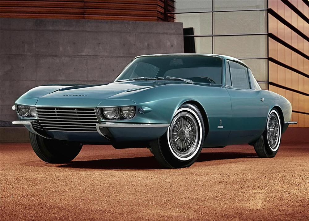 1963 Corvette Rondine concept front
