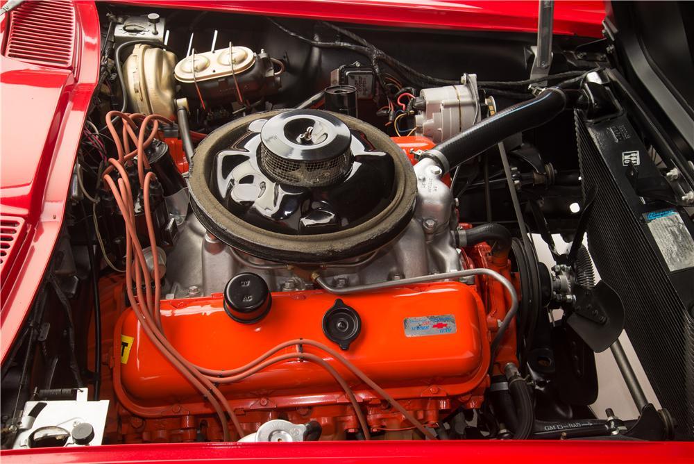 1967 Chevrolet Corvette L88 Coupe engine