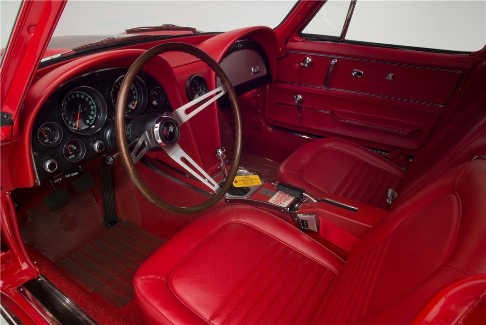 1967 Chevrolet Corvette L88 Coupe interior