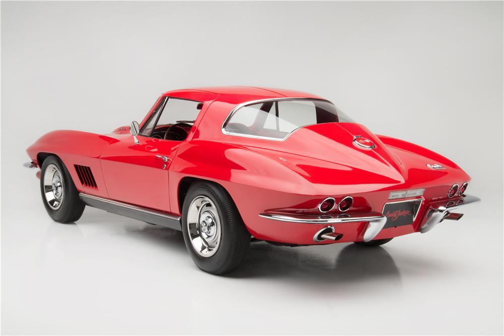 1967 Chevrolet Corvette L88 Coupe rear 3/4