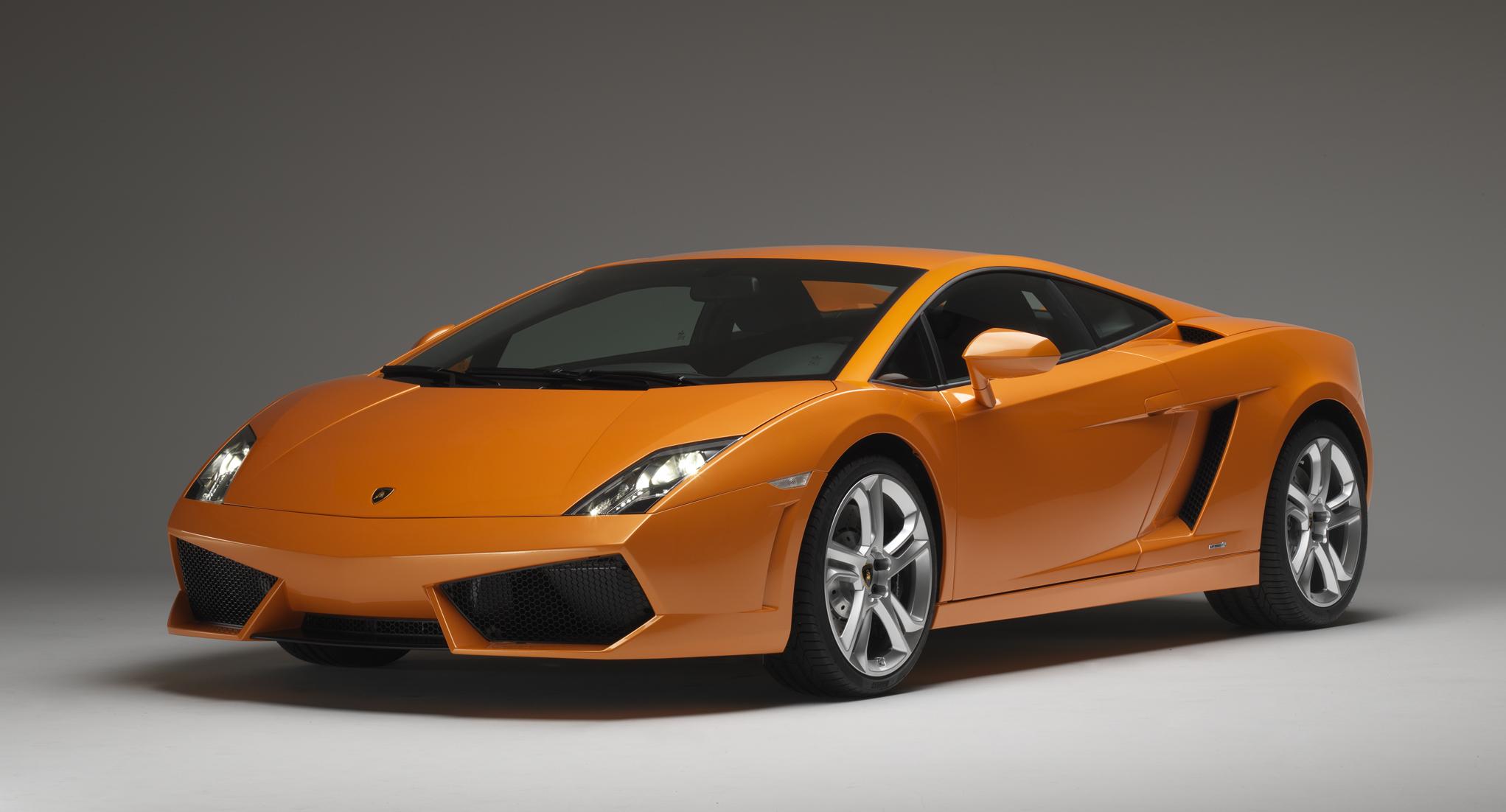 Lamborghini Gallardo LP front 3/4