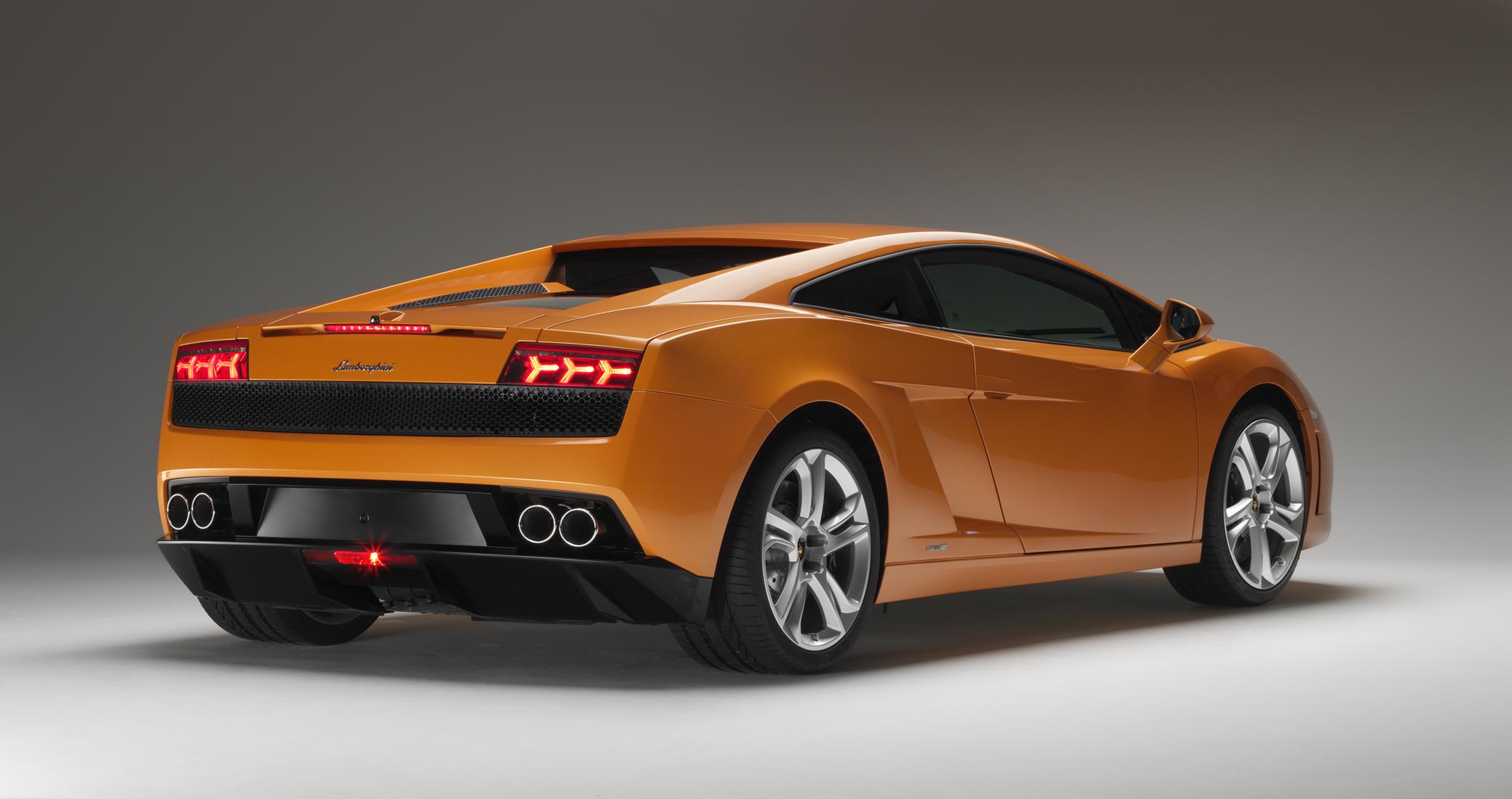 Lamborghini Gallardo LP rear 3/4