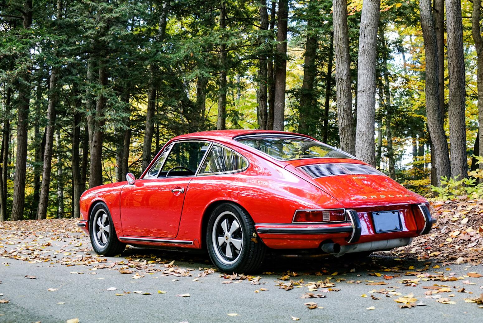 1967 Porsche 911S rear 3/4