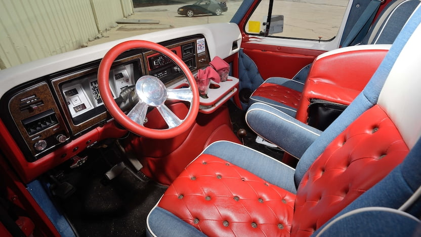 1979 Ford Custom Van interior