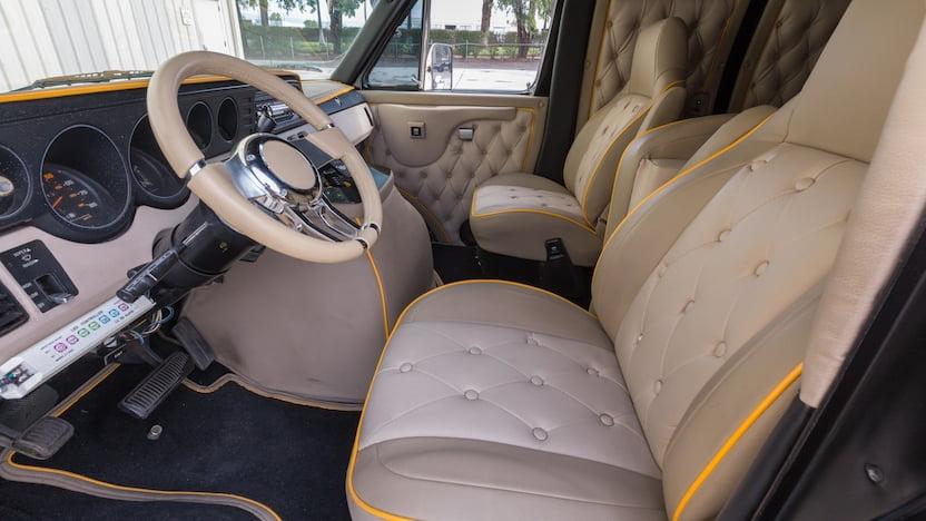 1980 Dodge Custom Van interior