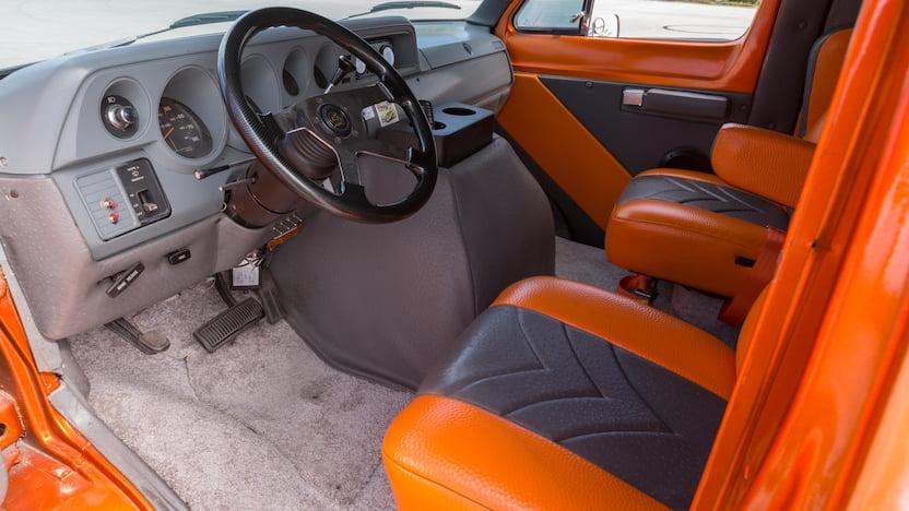 1984 Dodge Custom Van interior