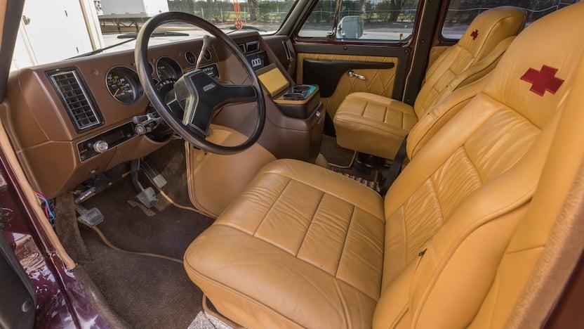 1985 Chevrolet Custom Van interior