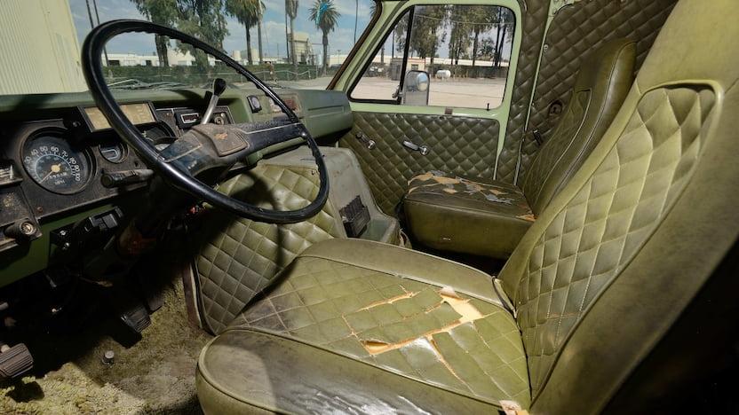 1976 Chevrolet Custom Van interior