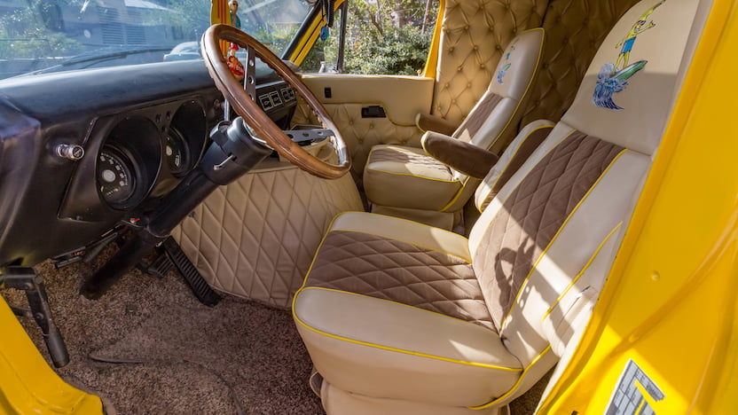 1977 Dodge Custom Van interior