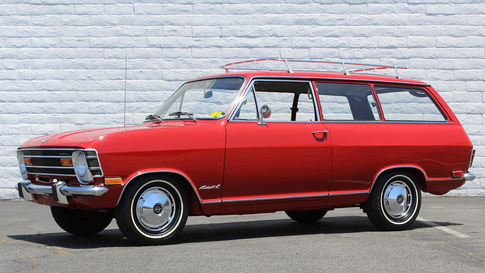 1968 Opel Kadett L station wagon
