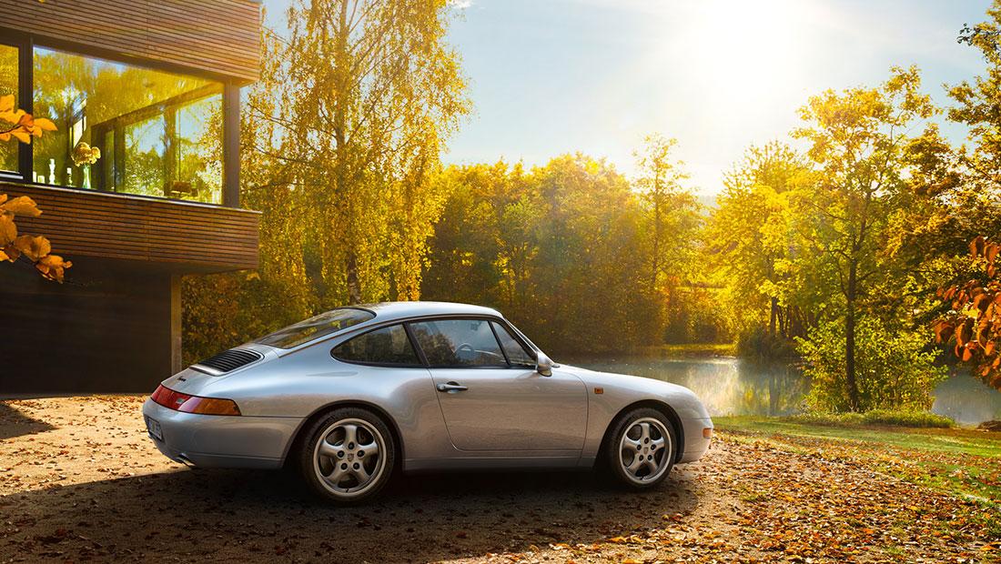 993-generation Porsche 911