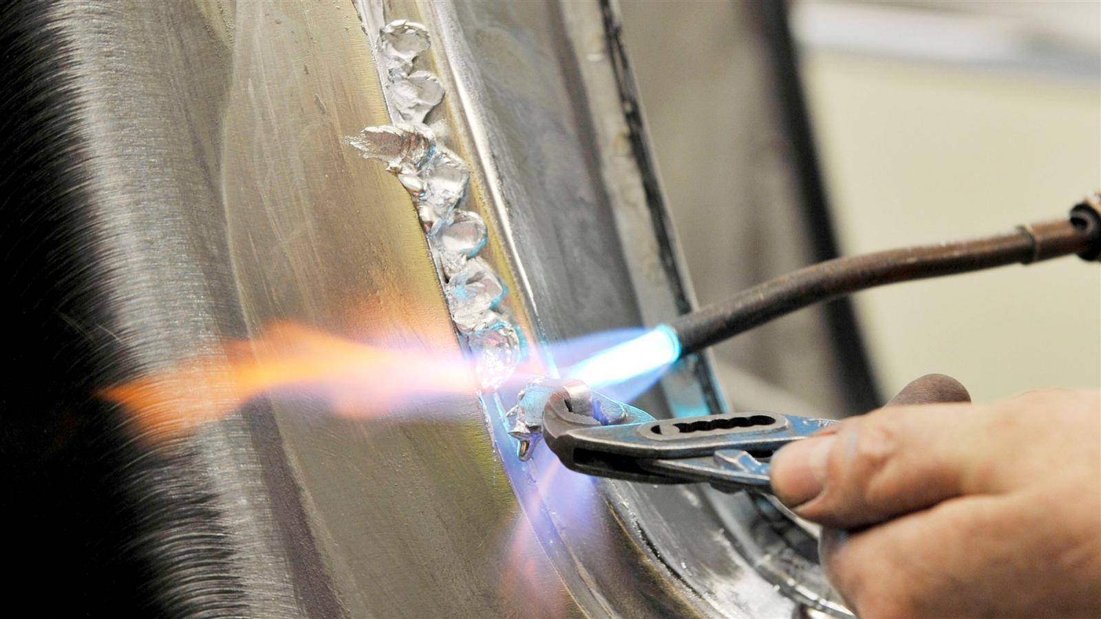 Porsche 911 Factory Restoration welding