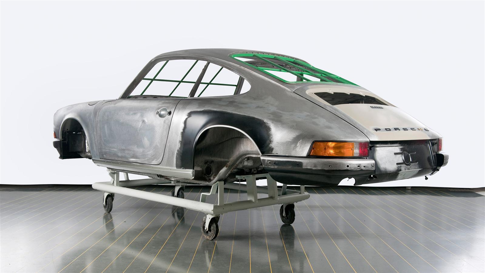 Porsche 911 Factory Restoration ready for paint