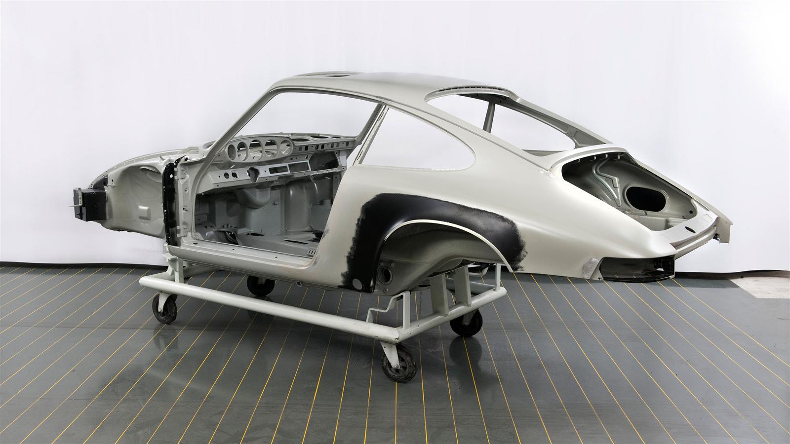 Porsche Metal Restoration