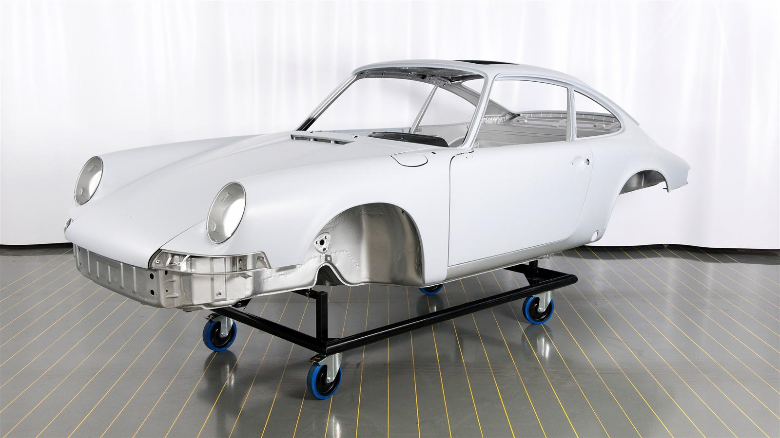Porsche Restoration paint job