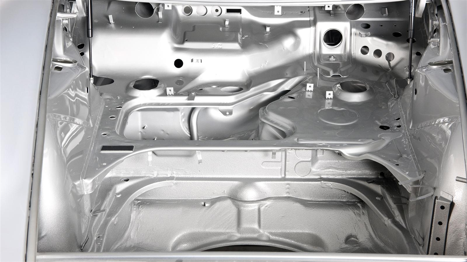 Porsche 911 Factory metal work