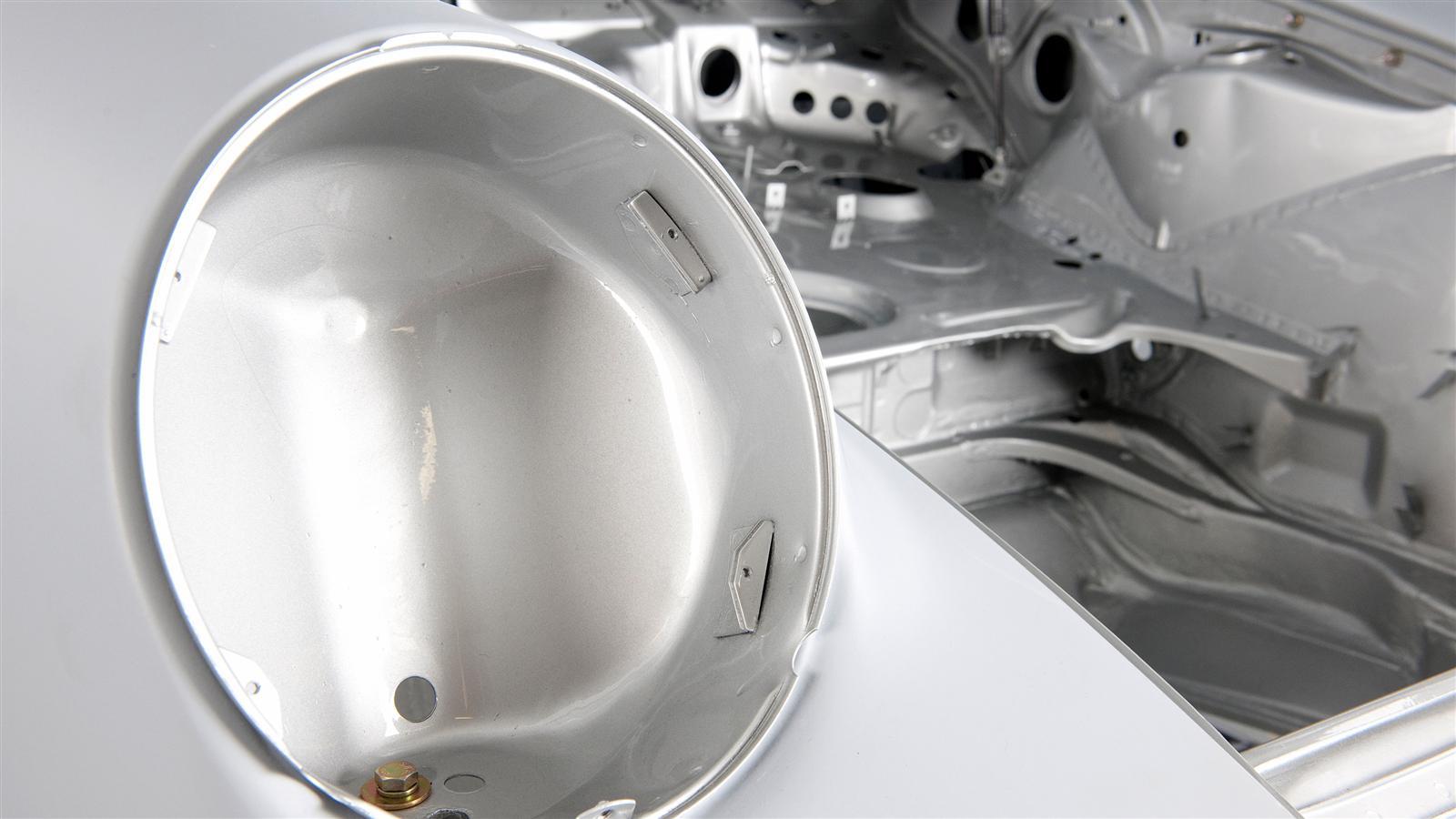 Porsche 911 Factory Restoration headlight