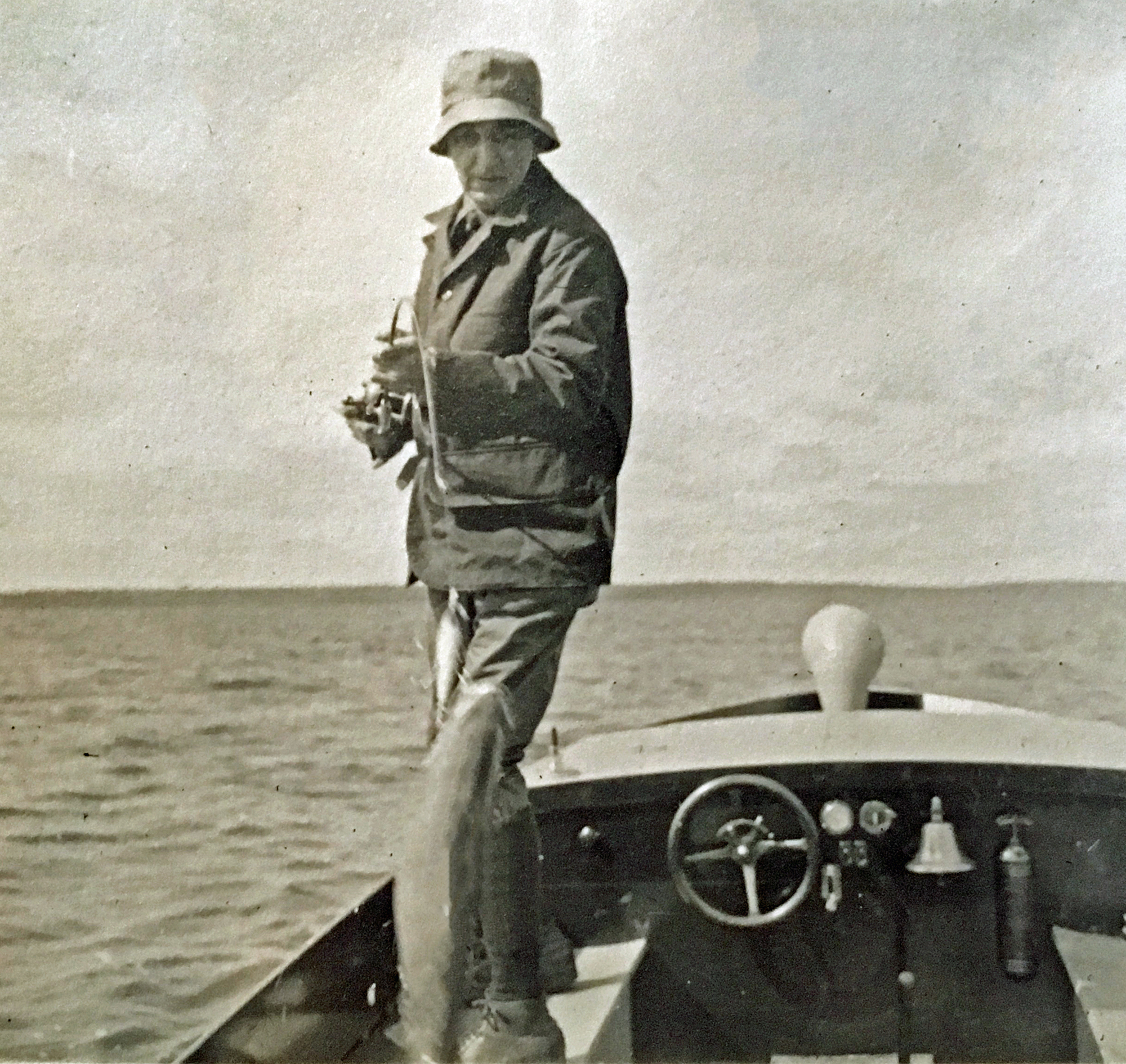 1919 ALT Sr fishing in Rainbow